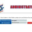 Verwaltungsoberfläche / Backend / Login