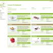 Produktliste Website