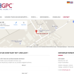Referenz GPC: Kontaktformular und Landkarte mit Routenplaner
