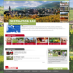Referenzen: Screenshot Startseite Destination Alsace