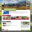 Referenzen: Screenshot Startseite Destination Alsace
