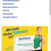 bionorm: Startseite Website auf einem Smartphone-Bildschirm