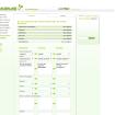 Screenshot LeuteLink - ein soziales Netzwerk / Einstellungen Persönliches